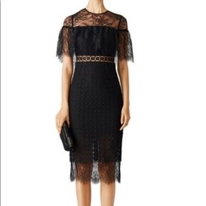 🔥SALE🔥Cynthia Rowley black sheer popover dress